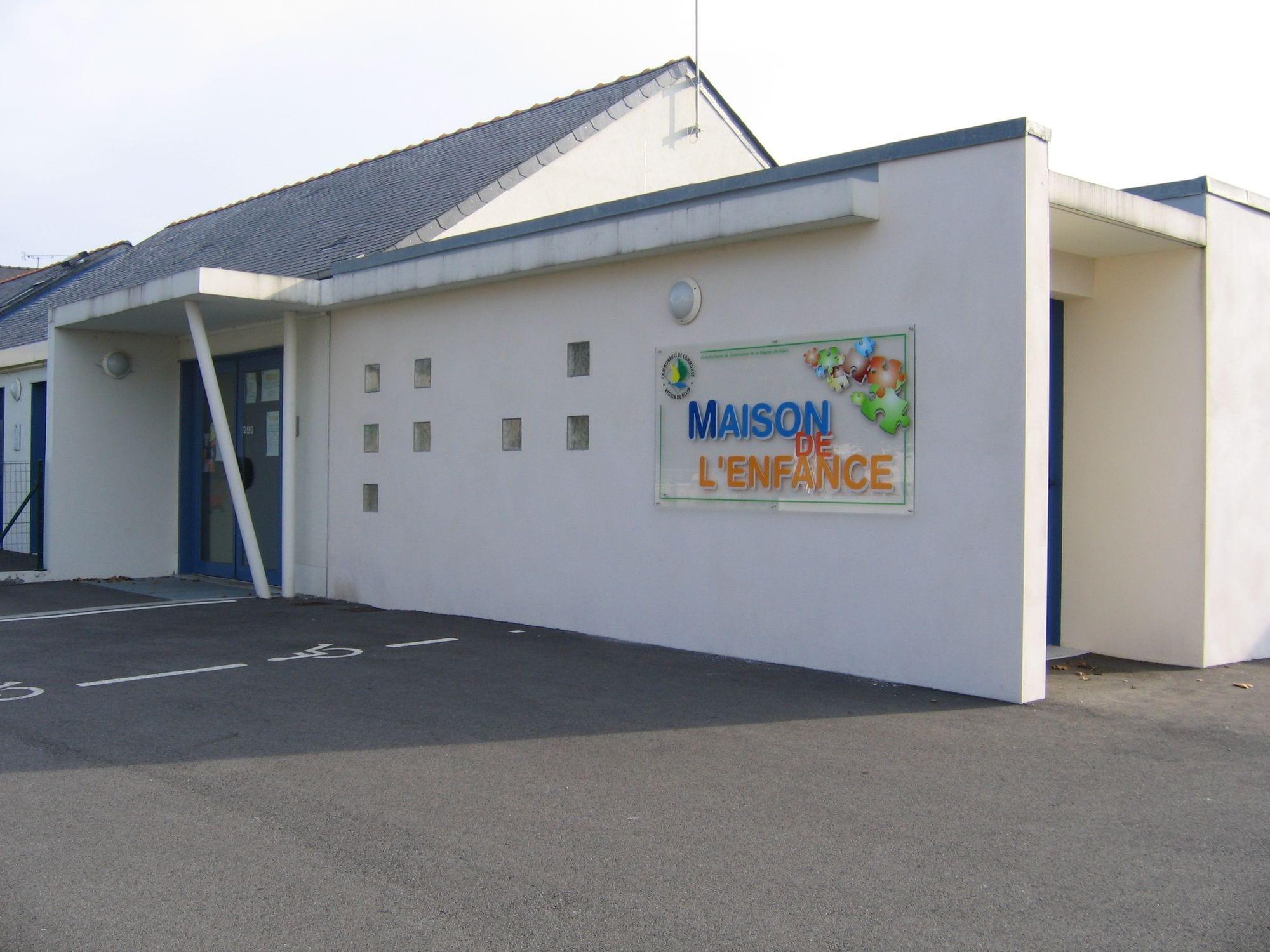 La Maison de l'enfance à Blain