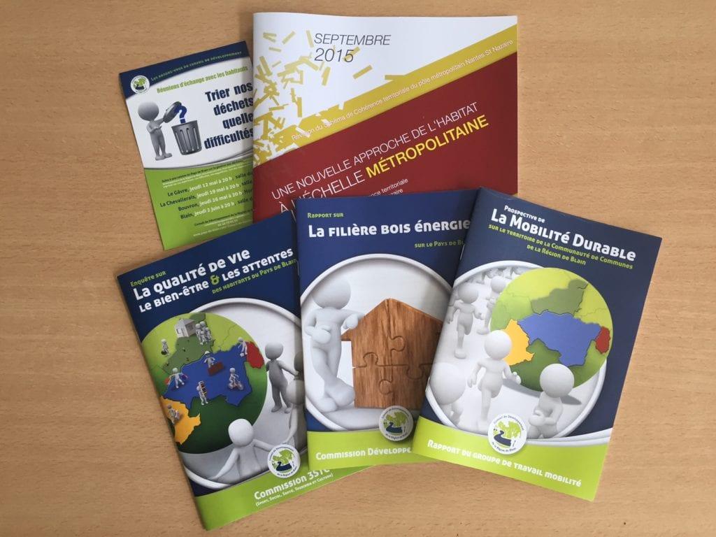 publications conseil de développement