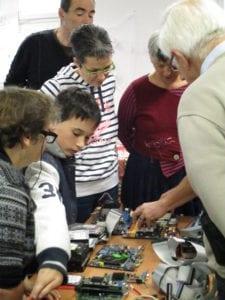 Atelier réparation d'ordinateur